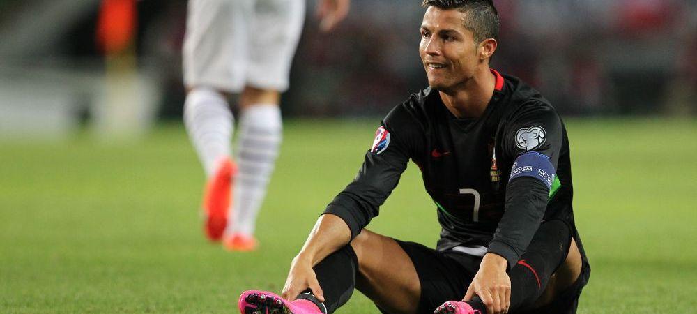 Inca o dovada ca Ronaldo e cu totul alt jucator la nationala: starul Realului a ratat exasperant, inclusiv din penalty, Portugalia a pierdut cu Bulgaria