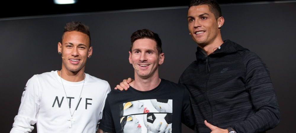 """MSN + CR. Declaratia neasteptata a lui Neymar despre rivalul de la Real Madrid: """"Sunt fanul lui, ar fi bine sa joace la Barca"""""""