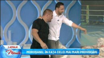 """Farsa SENZATIONALA cu Morosanu de 1 aprilie: """"Nu vezi, ai dat numai pe langa el. A dat cu tine de pamant!"""" Reactia lui Catalin"""