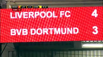 """MONTAJ SENZATIONAL din Liverpool 4-3 Dortmund! """"Nein! Nein! Nu se poate asa ceva"""" Secundele care au scris o noua istorie in fotbal"""