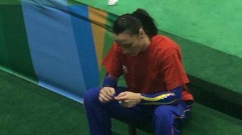 O imagine SOCANTA pentru Romania! Momentul in care Catalina Ponor RATEAZA si CADE in calificarile la Jocurile Olimpice de la Rio. VIDEO