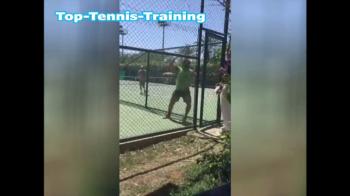 Iranianul care risca suspendarea pe viata din tenis pentru acest gest! Ce a facut pe teren