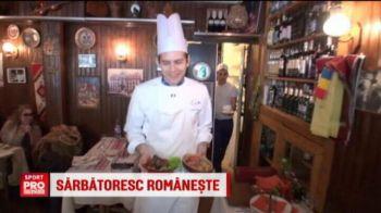 VIDEO | Nationala poate sarbatori romaneste la Paris, daca va face o MINUNE la EURO. Un roman promite sarmalele Keseru si papanasii Alibec :)