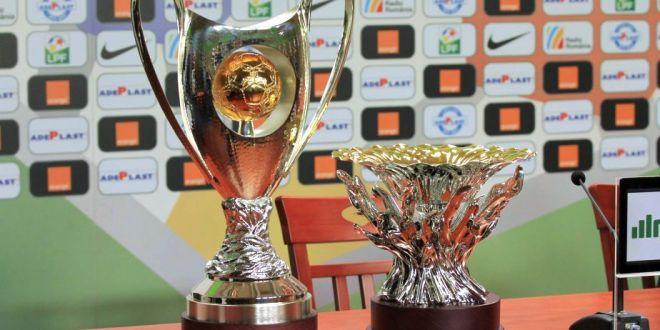 FOTO | Cum arata trofeul pe care Alibec si Gaman il vor primi pentru castigarea campionatului. LPF a schimbat designul pentru acest sezon