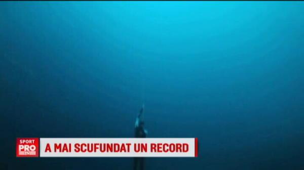 """RECORDUL MONDIAL reusit de """"regele scufundarilor"""". Cat timp si-a tinut respiratia sub apa"""