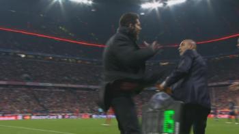 Gest salbatic al lui Diego Simeone in tensiunea infernala din prelungirile partidei! VIDEO