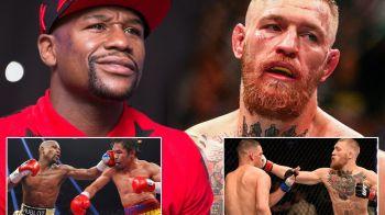 MECIUL SECOLULUI 2: Mayweather, gata sa se bata cu campionul UFC in primul meci de 1 miliard de dolari!