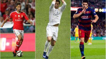 Totul se decide in cateva zile. Luis Suarez conduce clasamentul pentru Gheata de Aur cu o etapa inaintea finalului din La Liga! Cate goluri are peste Ronaldo