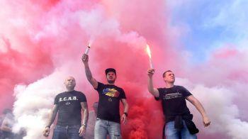 O finala pentru Ekeng! Dinamo - CFR Cluj va fi intrerupt in minutul 14, o fanfara va canta in memoria fostului dinamovist. Meciul e marti la ProTV, 21:30