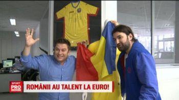 """""""Romania, ai talent, te-as trece direct in finala la Euro!"""" :) Smiley si Bartos pariaza pe o minune in Franta VIDEO"""