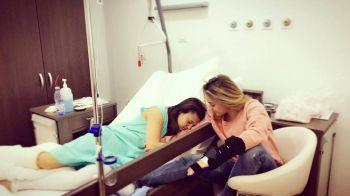 Imaginea DRAMATICA a gimnasticii din Romania! Cum s-au fotografiat Larisa Iordache si Diana Bulimar la spital! Ponor, mai mult ca sigur la Rio!