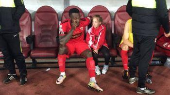 Imaginea durerii la Dinamo, dupa esecul cu CFR! Cum a fost surprins Gnohere pe banca de rezerve. FOTO