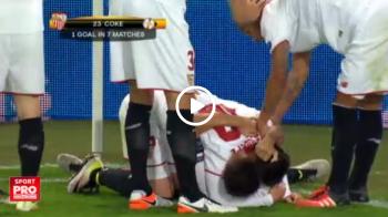 Faza colectiva de atac exceptionala a Sevillei la golul de 2-1. Apararea lui Liverpool, anihilata de spanioli   VIDEO