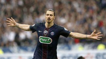 """Am venit, am vazut, am cucerit"" Ibrahimovic a iesit din scena! Momentul in care tot stadionul s-a inchinat in fata LEGENDEI Zlatan"