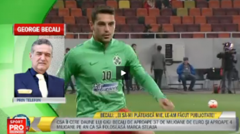 """CSA Steaua nu spune cine e evaluatorul care ii cere lui Becali despagubiri de 37 mil €: """"Ei vorbesc de transparenta!"""""""