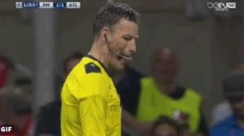 """Faza monumentala in finalul meciului, Clattenburg e azi """"erou"""" pe retelele de socializare! Ce semn i-a aratat lui Pepe dupa o simulare jenanta, faza nu a mai fost reluata la TV VIDEO"""