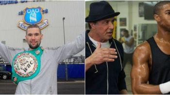 Anul trecut juca in Creed, acum e campion mondial! Pugilistul-actor din ultimul film al lui Stallone a cucerit centura WBC la semigrea cu un super KO