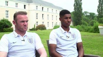 """""""Cand vad ce nume sunt pe tricouri... nu pare real! De Craciun ma chinuiam sa joc la U21, acum sunt la Euro!"""" Interviu emotionant cu Rashford"""