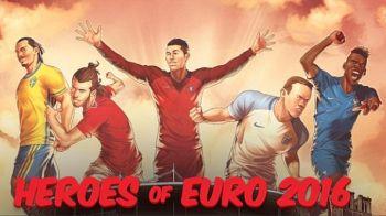 GALERIE FOTO UNICA! Ei sunt SUPER EROII de la Euro. Ce staruri din grupa Romaniei au ajuns in galeria EUROfantasticilor