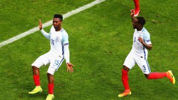 Anglia 2-1 Tara Galilor, dupa o rasturnare fantastica de scor adusa de Vardy si Sturridge. Rezumatul VIDEO