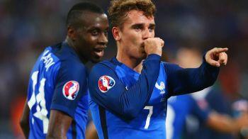 Franta 0-0 Elvetia. Cele doua echipe merg impreuna in optimile Campionatului European, dupa un meci in care francezii au avut doua bare   Fazele meciului