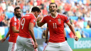 Rusia 0-3 Tara Galilor | Galezii obtin o victorie si o calificare istorica in optimi, de pe primul loc al grupei B. Bale si Ramsey au facut spectacol