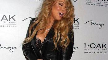 Cum a mers Mariah Carey imbracata la club. Gesturile pe care le-a facut in fata fotografilor extaziati