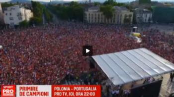 Primire fantastica la Budapesta pentru jucatorii Ungariei: mii de oameni i-au asteptat ca pe campioni, chiar daca au parasit Euro dupa 0-4 cu Belgia VIDEO