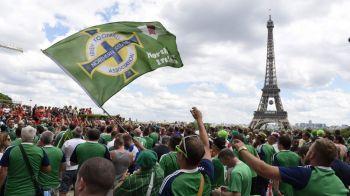 """Suporterii irlandezi au castigat EURO! Vor fi premiati cu """"Medalia Orasului Paris"""" pentru comportamentul lor. VIDEO"""