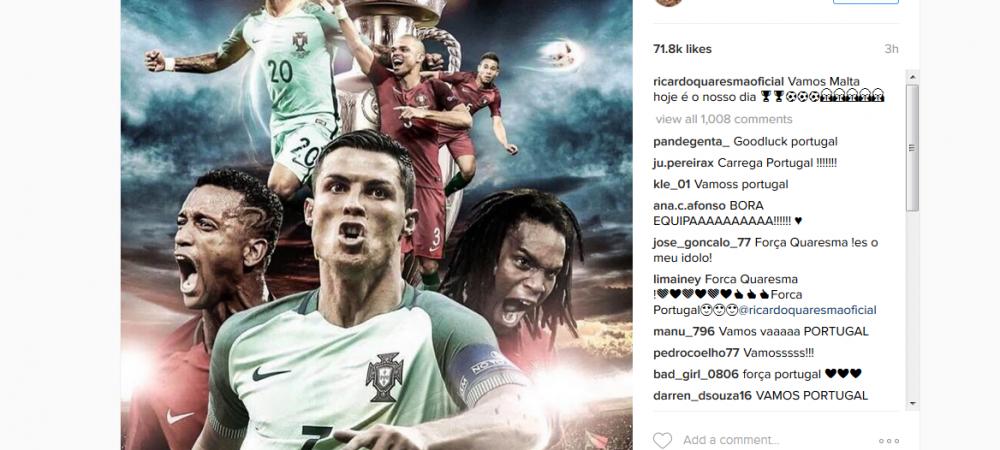 """""""Azi e ziua noastra!"""" Strigatul de lupta al omului care i-a luat fata lui Ronaldo la EURO. Pepe, incert pentru partida de diseara. Portugalia - Tara Galilor, 22:00, ProTV!"""