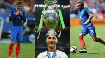 UEFA a anuntat echipa turneului final: Ronaldo e titular in atac si are doi parteneri francezi in ofensiva. SURPRIZELE vin de la Tara Galilor