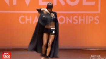Cum arata fata din Romania care a castigat pentru a 4-a oara campionatul mondial de fitness VIDEO