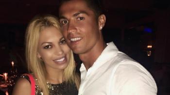 Ronaldo a petrecut alaturi de o romanca in club, la Ibiza! Fata care a RUPT internetul cu pozele ei super sexy