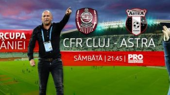 Astra - CFR, 21:45, LIVE la ProTV |Ploua torential la Cluj, cu 3 ore inainte de startul meciului! Ce se intampla daca meciul e egal dupa 90 de minute
