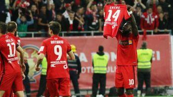 Dinamo ii onoreaza memoria lui Patrick Ekeng. Al 3-lea tricou pentru noul sezon va fi complet negru. VIDEO