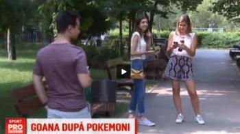 Goana dupa pokemoni, noul sport national :) Parcurile din Bucuresti sunt pline de vanatori: