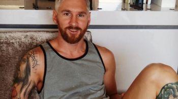 FOTO INCREDIBIL! Messi s-a facut POKEMON :) Starul Barcelonei s-a vopsit BLOND. Vezi cum arata
