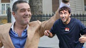 Gigi Becali l-a luat pe Lutu si a plecat din Bucuresti. A vrut ca totul sa fie secret, dar noi avem imaginile