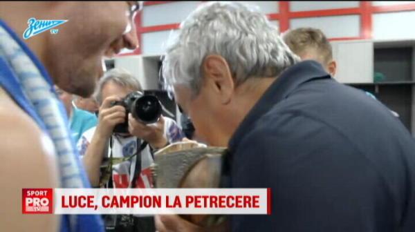 Imaginile bucuriei pentru Lucescu in Rusia. Cum a reactionat dupa ce a cucerit primul trofeu la Zenit