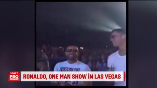 Ronaldo se antreneaza cu durul McGregor pentru noul sezon: a intrat in cusca de MMA la Vegas. Ce provocare i-a lansat irlandezul