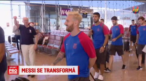 Cele mai tari POANTE de pe net, dupa ce Messi s-a facut BLOND! Ce schimbare de look ar putea sa-si mai faca acum :))