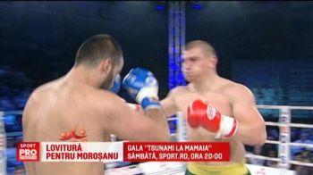 Lovitura grea pentru Morosanu: nu se mai poate bate in gala de la Mamaia! Ce a patit