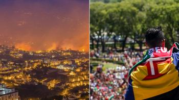 Un nou gest impresionant al lui Ronaldo! Le-a oferit bani portughezilor afectati de incendiile devastatoare din Madeira