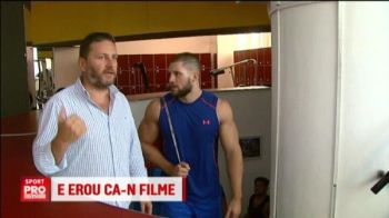 Il cheama Munteanu si e un munte de om. Un boxer roman din Germania e bodyguardul vedetelor de la Hollywood. VIDEO
