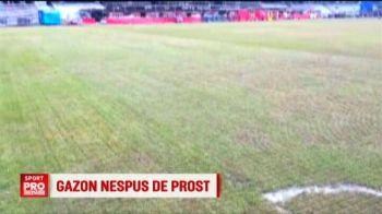 In 48 de ore se decide unde se joaca Romania - Muntenegru! Ce spun Burleanu si Daum despre gazonul de pe Cluj Arena