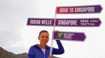 A jucat semifinala, dar a cazut in clasamentul mondial: Simona Halep, pe 5 incepand de astazi. Irina Begu, la cea mai buna clasare a carierei