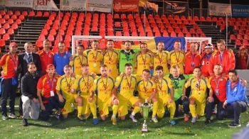 Jucam pentru cel de-al 7-lea trofeu european la minifotbal: Romania - Spania, ultimul meci din GRUPE, astazi, de la 19:00, la Sport.ro. Romania vine dupa victorii cu Franta si Lituania