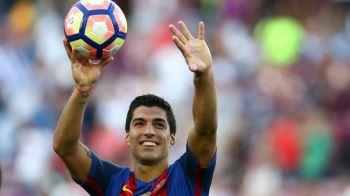 """""""Canibalul"""" de neoprit. Cifrele incredibile ale lui Suarez in ultimele meciuri din La Liga: a marcat in 6 partide mai mult decat golgheterul campioanei Astra intr-un sezon intreg"""