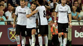 EXTRAORDINAR! Astra elimina din nou West Ham si se califica in grupele Europa League! West Ham 0-1 Astra. Teixeira a marcat, Lung, EROU