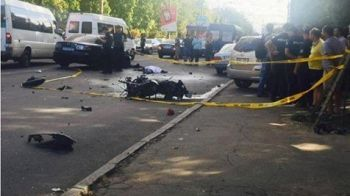 Accident grav produs in capitala. Tanarul de 23 de ani a murit pe loc. VIDEO